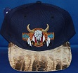 Native American Hat with alligator brim