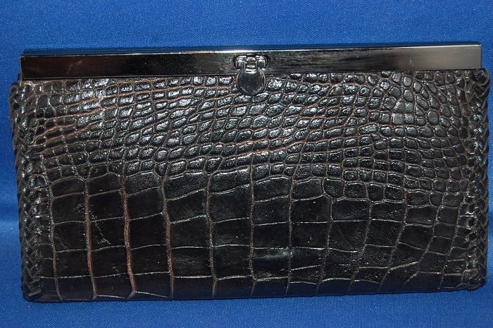 Alligator Leather Kelli Style Ladies Wallet