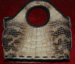 MarketPlace handbag - natural alligator leather